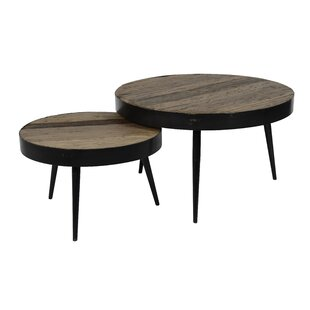 Ebersole 2-Piece Coffee Table Set By Union Rustic