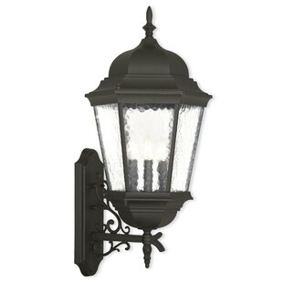 Christian 3-Light Outdoor Wall Lantern