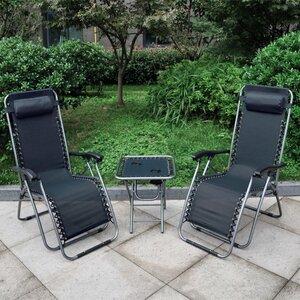 Gartenliegen-Set mit Tisch von Bel Étage