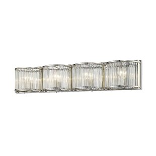 House of Hampton Caledonia 4-Light Bath Bar