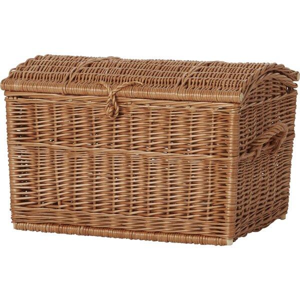 Merveilleux Wicker Blanket Basket | Wayfair.co.uk
