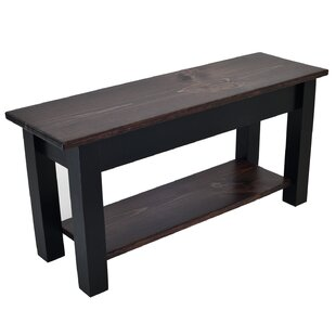 Halma Wood Storage Bench