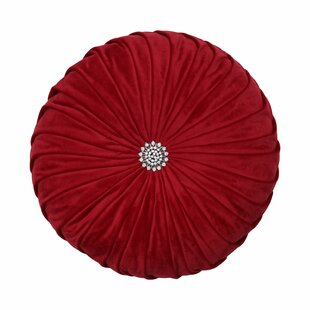 Mathilda Round Pleated Pillow