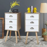 Ackerly 3 - Drawer Nightstand (Set of 2) by George Oliver