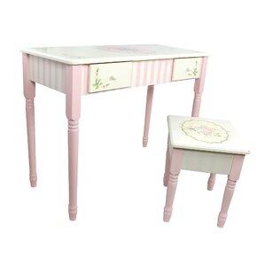 Bouquet Vanity Table U0026 Stool Set
