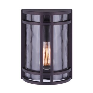 Breakwater Bay Wilker Outdoor Wall Lantern