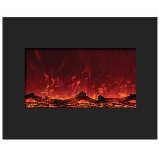 Spielman Zero Clearance Wall Mounted Electric Fireplace by Orren Ellis
