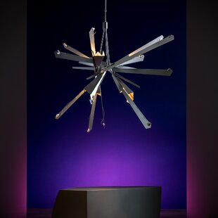 Orren Ellis Pelton 8-Light Sputnik Chandelier