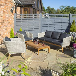Lindberg 5 Seater Sofa Set By Sol 72 Outdoor