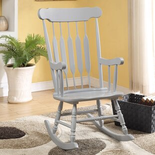 Asia Rocking Chair by Beachcrest Home
