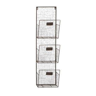 Wire Wall Basket Unit