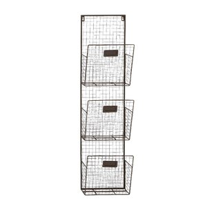 Dighton 3 Tier Wire Wall Unit Set
