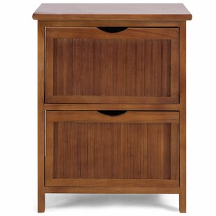 Candleick 2 Drawer Nightstand