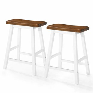Athens 60cm Bar Stool (Set Of 2) By Brambly Cottage