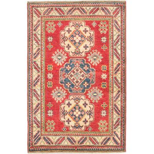One-of-a-Kind Finest Gazni Hand-Knotted Red Area Rug
