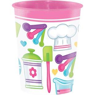 Little Chef Keepsake Plastic Disposable Cup (Set of 8)