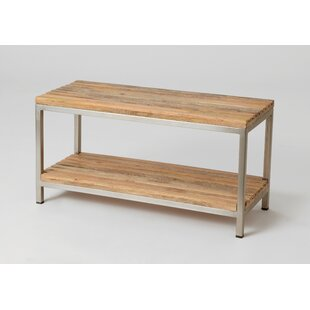 Atakent Wood Storage Bench By Union Rustic