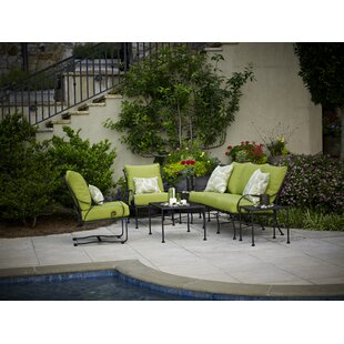 Monticello Deep Sunbrella Seating Group with Cushions by Meadowcraft