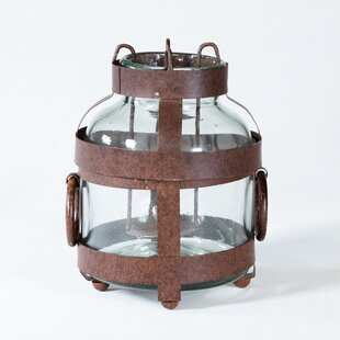 Jar Metal Lantern (Set of 4) by Gracie Oaks