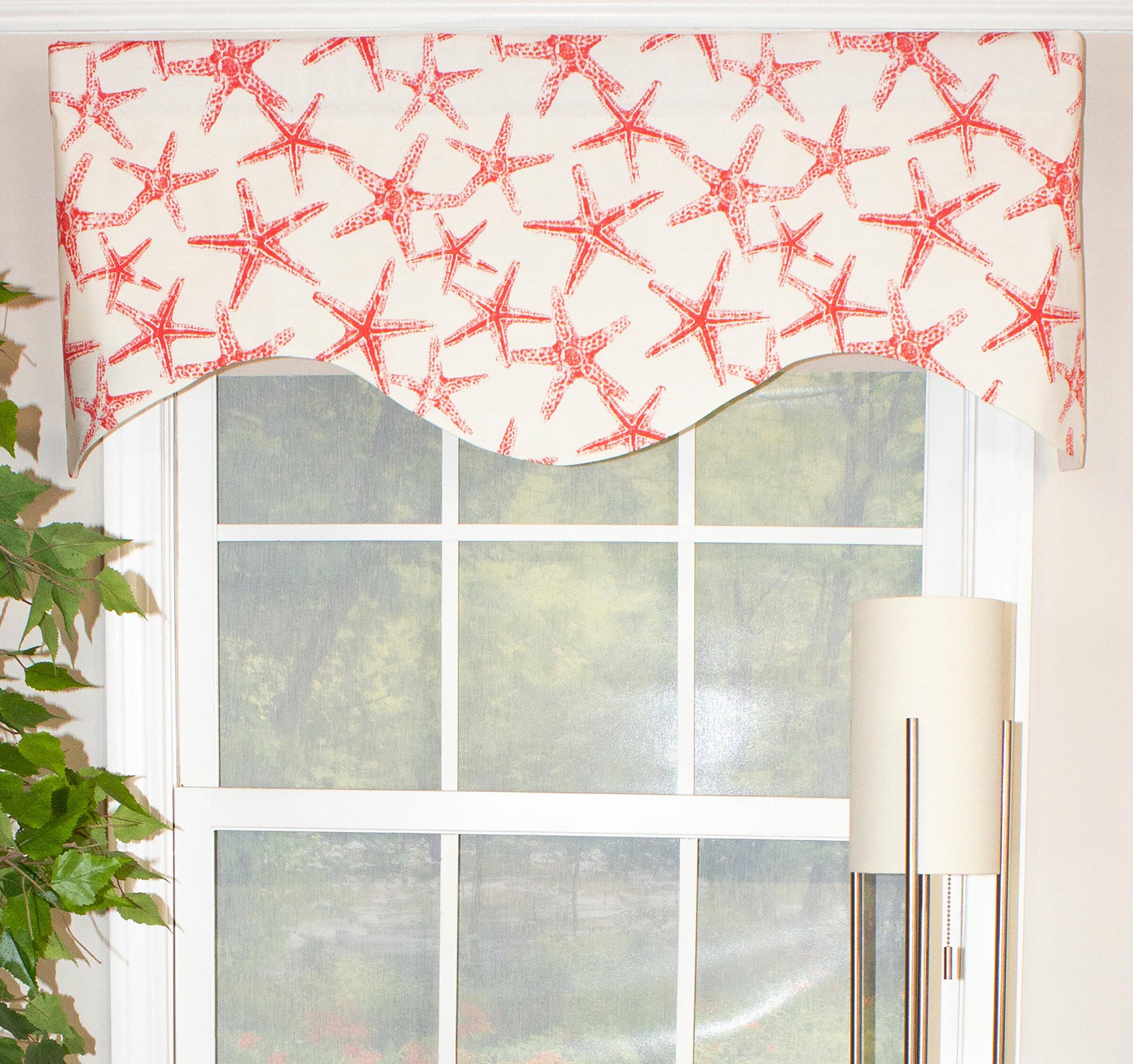 Bay Window Scarf Valances Kitchen Curtains You Ll Love In 2021 Wayfair