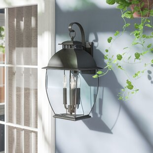 Price comparison Wilsonville 3-Light Outdoor Wall Lantern By Three Posts