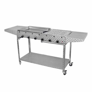Mathilda Portable Electric Barbecue With Griddle By Sol 72 Outdoor