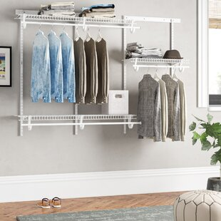ShelfTrack 183cm Wide Clothes Storage System By Closetmaid