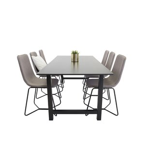 Nekoosa Dining Set With 6 Chairs By 17 Stories