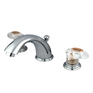 Kingston Brass Magellan Widespread Bathroom Faucet with ABS Pop-Up Drain Image