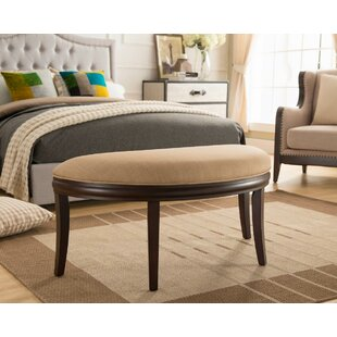 One Source Living Exeter Upholstered Bench