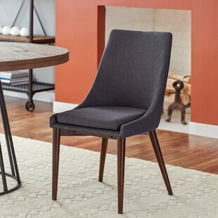 Cleland Upholstered Parsons Chair (Set of 2) By Mercury Row
