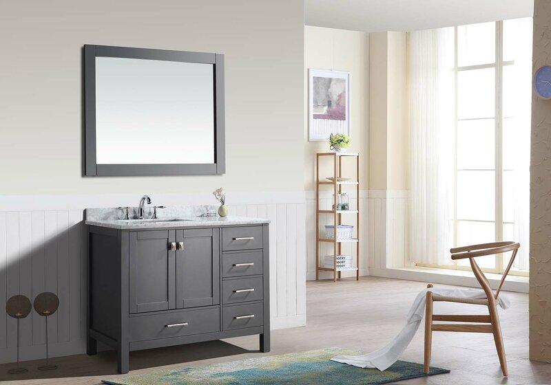 Magnificent Fritz 42 Single Bathroom Vanity Set Download Free Architecture Designs Scobabritishbridgeorg