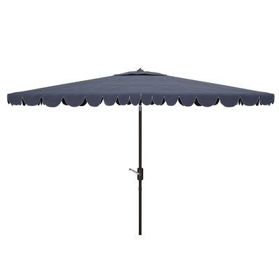 Truet 6.5 X 10 Ft Rect Crank Umbrella by Breakwater Bay Top Reviews