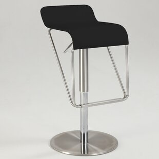 Brace Adjustable Height Swivel Bar Stool Orren Ellis