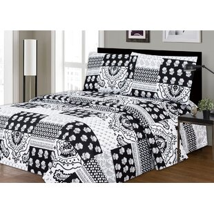 Leavy Printed Microfiber Sheet Set