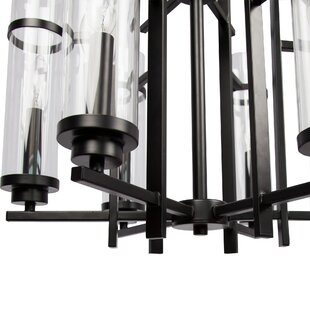 Gracie Oaks Cheree 6-Light Candle Style Chandelier