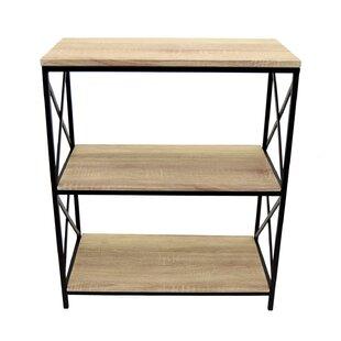 Pollux Metal Standard Bookcase Gracie Oaks