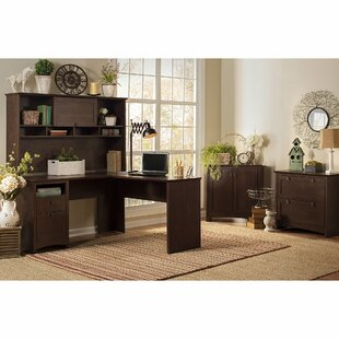 Coupon Fralick 4 Piece L-Shape Desk Office Suite By Darby Home Co