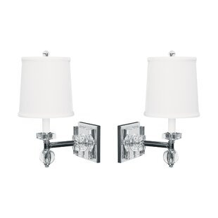 Big Save Sleeper 2-Light Armed Sconce (Set of 2) By Everly Quinn