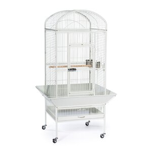 Medium Dome Top Bird Cage with Casters