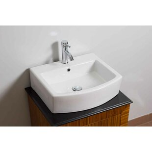 Guide to buy Ceramic Rectangular Bathroom Sink with Faucet and Overflow By American Imaginations