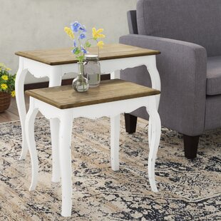 Kolton 2 Piece Nesting Table Set
