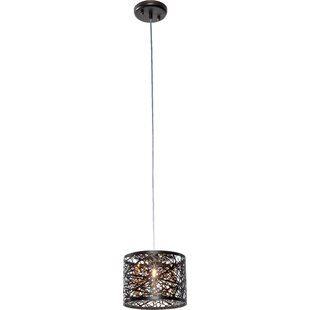Orren Ellis Buzard 1-Light Drum Pendant