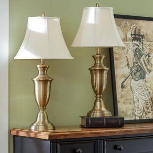 Lamp sets youll love wayfair rowan 305 table lamp set set of 2 aloadofball Choice Image