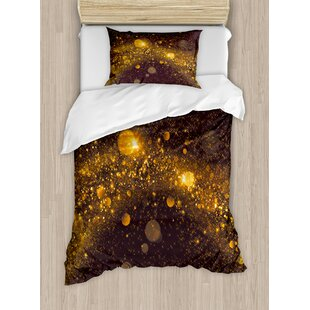Space Duvet Set by Ambesonne