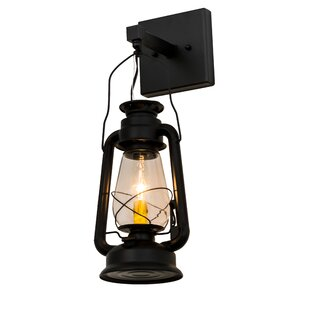 Great Price Yonker Outdoor Wall Lantern By Loon Peak