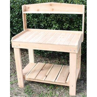 Style 12 Cedar Potting Bench