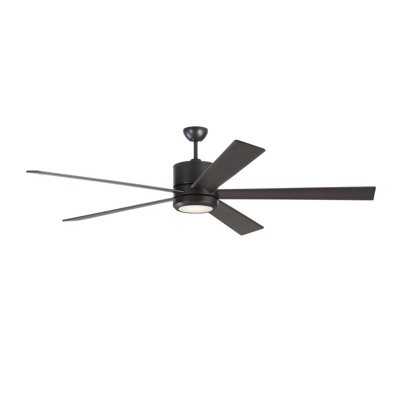 Monte Carlo Fan Company 72 Vision 5 Blade Led Standard Ceiling Fan With Light Kit Included Wayfair