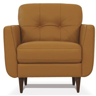 Novick Leatherette Club Chair by George Oliver