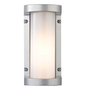 Orren Ellis Savannah 1-Light Outdoor Flush mount